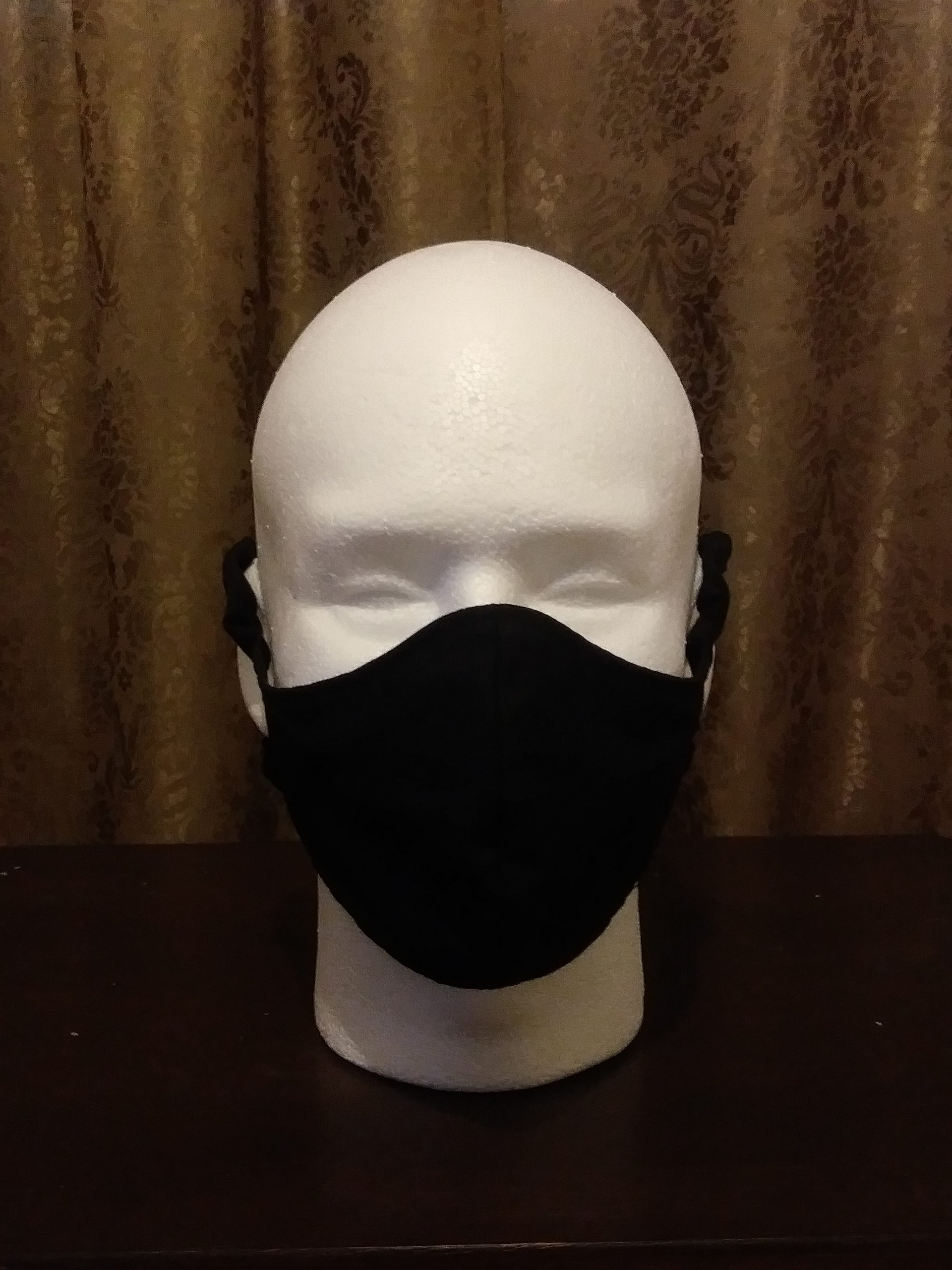 Large Face Mask, black